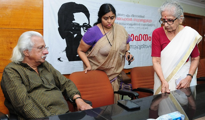 Adoor and Lilawati teacher at a function
