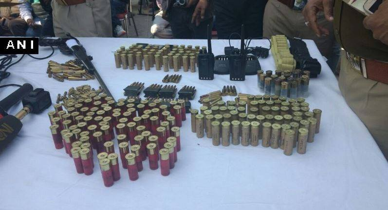 Arms recovered from Parminder SIngh