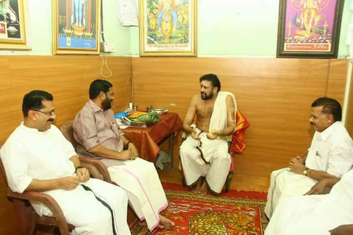 KT Jaleel becomes the first Muslim Minister to visit Sabarimala