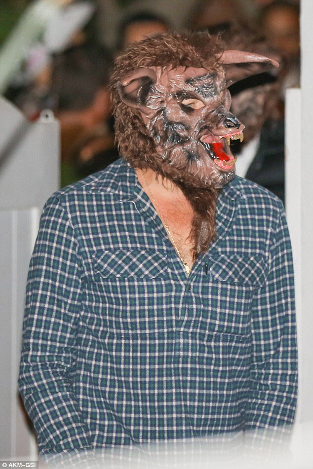 Leonardo DiCaprio transformed himself into a werewolf