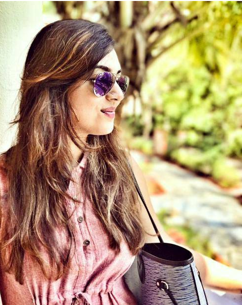 Nazriya taking a break in Goa