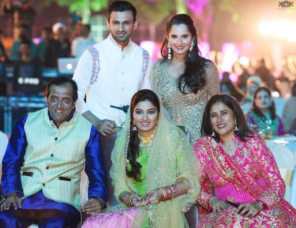 Sania Mirzas sister star studded wedding Photos