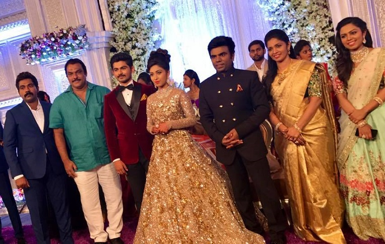 Saravana Stores Owner Aruns Daughters Glitzy Wedding Reception