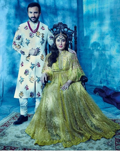 THE ROYALS - Kareena Kapoor and Saif Ali Khan