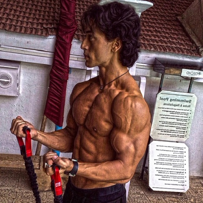 Tiger Shroffs Gym Photos Will Make Your Day